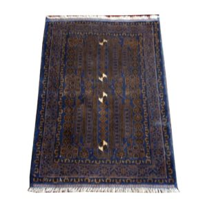 PERSIAN CARPET BELUCH WITH NATURAL COLORS 90X130 CM