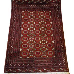 PERSIAN CARPET BUKHARA TURKMAN PROVINCE 131X184 CM