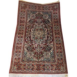 INDIAN CARPET GHOM QOM SILK HIGH QUALITY 95X157 CM
