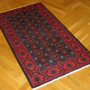 BELUCH PERSIAN CARPET WOOL HIGH QUALITY 86X162 CM