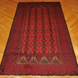 PERSIAN CARPET BELUCH NATURAL COLOR AND WOOL 249X130 CM