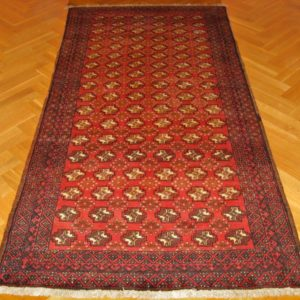 PERSIAN CARPET BALUCH NATURAL WOOL AND COLOR 263X130 CM