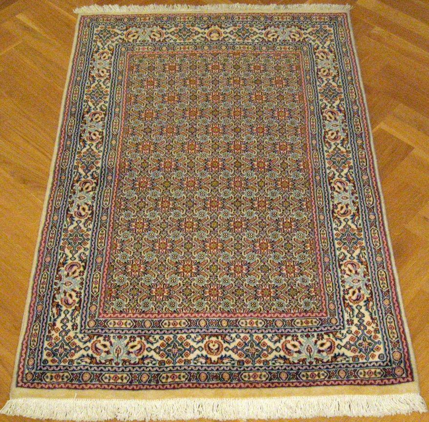 moud perzijski tepih prirodna boja i vuna svila 149 x 99 cm x ft behruz tepisi. Black Bedroom Furniture Sets. Home Design Ideas