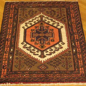 PERSIAN CARPET ZANJAN WOOL 131X105 CM