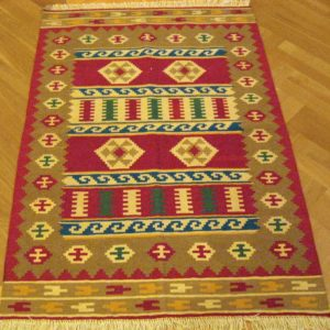 KILIM FARS PERSIAN NATURAL WOOL AND COLOR 149X100 CM