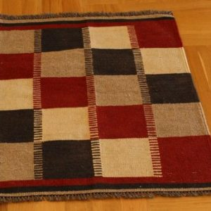 KILIM ARDABIL PERSIAN NATURAL WOOL AND COLOR 85X60 CM