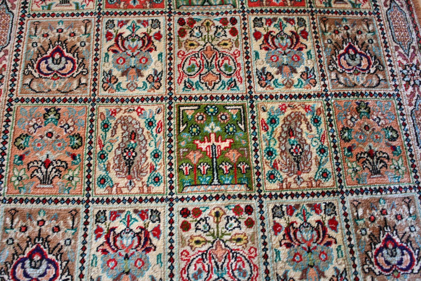 Silk Ghom Qom Original Persian
