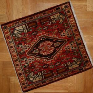 PERSIAN CARPET QASHQAI NOMAD MADE ORIGINAL PERSIAN 65X63 CM