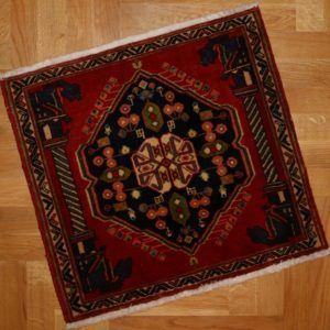 PERSIAN CARPET QASHQAI NOMAD MADE 58X61 CM