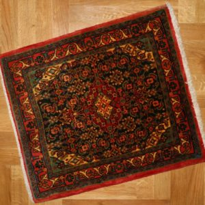 PERSIAN CARPET SARUGH HIGH QUALITY WOOL AND NATURAL COLOR 73X63 CM