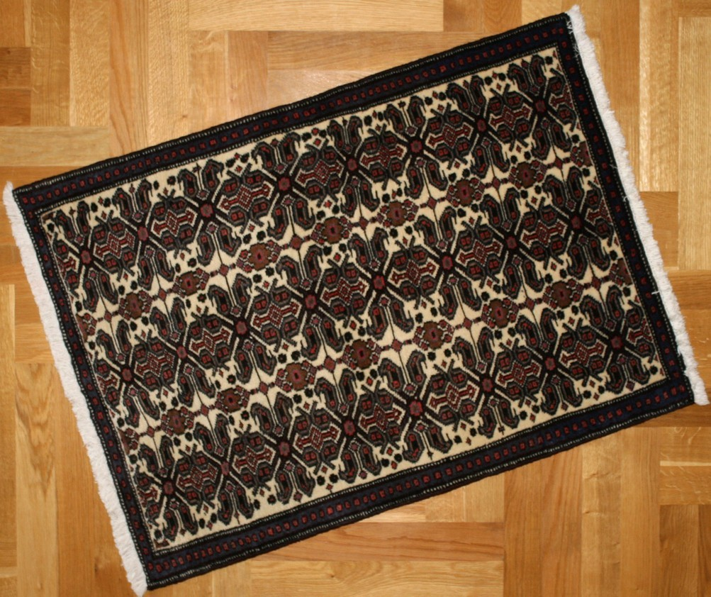 shahrebabak perzijski tepih 103 x 75 cm x ft behruz tepisi. Black Bedroom Furniture Sets. Home Design Ideas