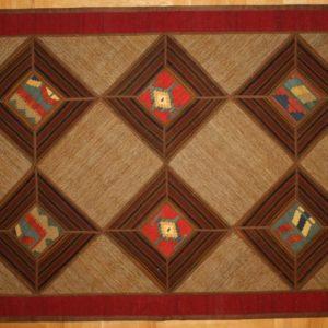 PERSIAN CARPET PATCHWORK HAND MADE 169X120 CM