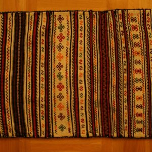 PERSIAN BAG KHORJIN EMBROIDERED KILIM LORESTAN PROVINCE PERSIAN HAND WORK 140X78 CM