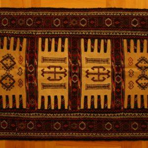 PERSIAN CARPET EMBROIDERED KHORASAN MASHHAD 176X92 CM