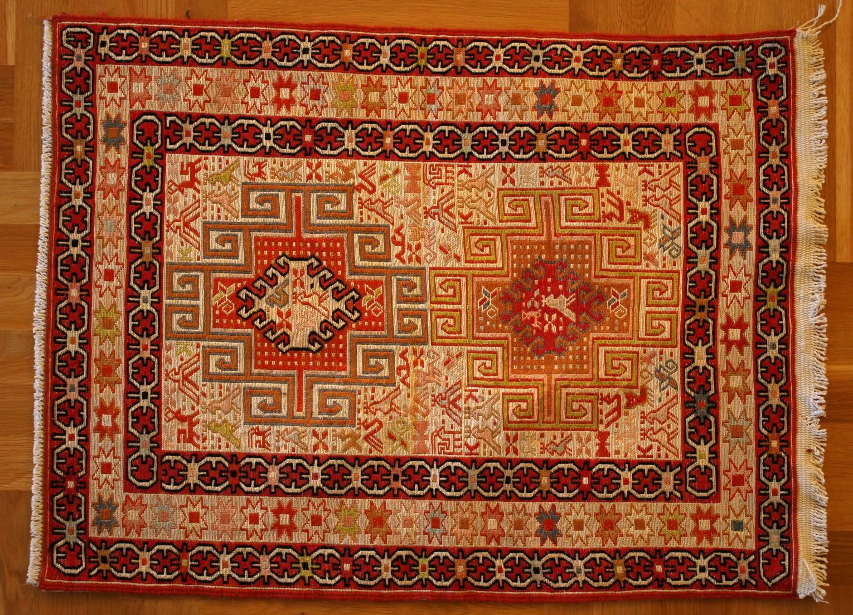 Persian Carpet Dashte Moghan Silk 98x75 Cm
