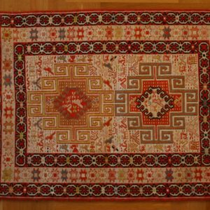 PERSIAN CARPET DASHTE MOGHAN SILK 100X75 CM