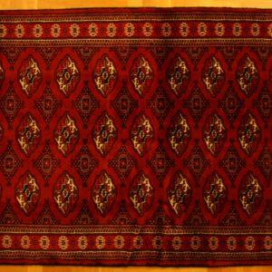 BUKHARA PERSIAN CARPET TURKMEN PROVINCE 194X126 CM