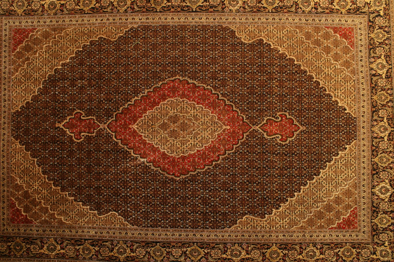 Persian Carpet Tabriz Mahi Woolen