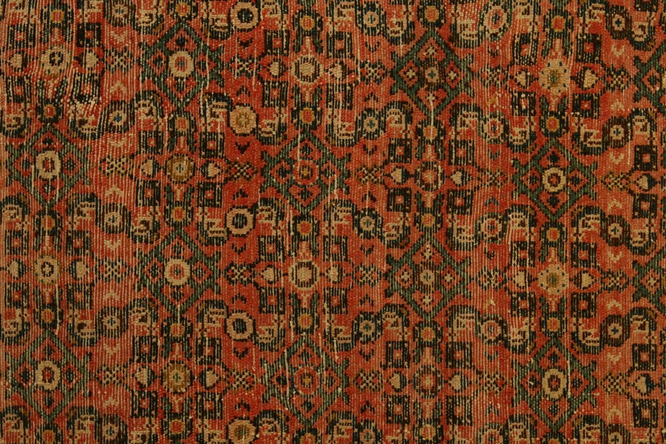 Persian Carpet Hosenabad Woolen 311x215 Cm Behruz Tepisi