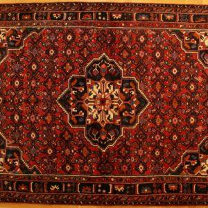 PERSIAN CARPET HOSENABAD, WOOL, 223X165 CM