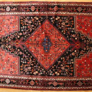 PERSIAN CARPET HAMADAN, WOOL, 252X149 CM