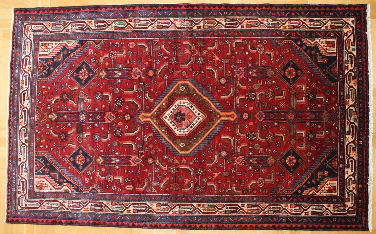 Persian Carpet Hamadan Wool 229x149