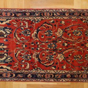 PERSIAN CARPET SAROUGH, WOOLEN, 403X77 CM