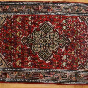 PERSIAN WOOLEN CARPET HAMADAN 112X79 CM