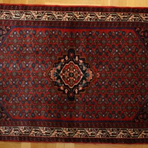 PERSIAN CARPET HAMADAN, WOOL, 160X110 CM