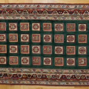 PERSIAN KILIM EMBROIDERED, WOOL, 239X80 CM