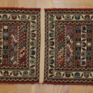 PERSIAN KILIM, EMBROIDERED, WOOLEN, 243X101 CM